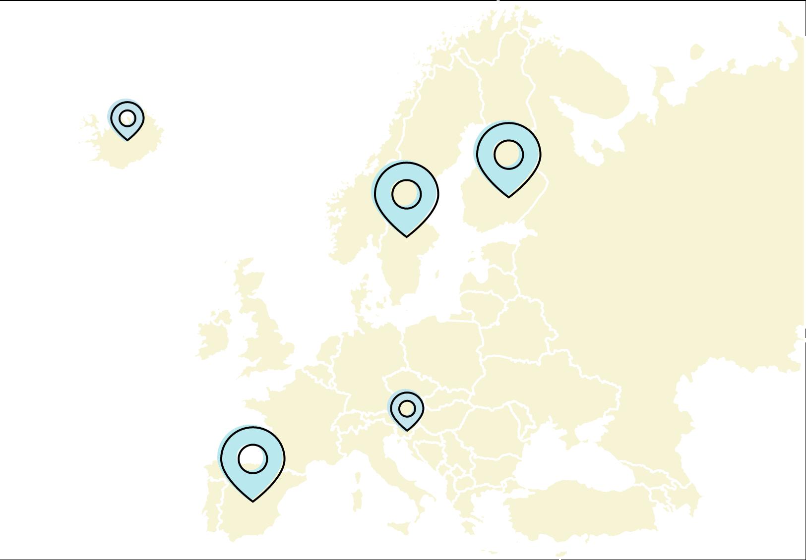 ePassi locations map